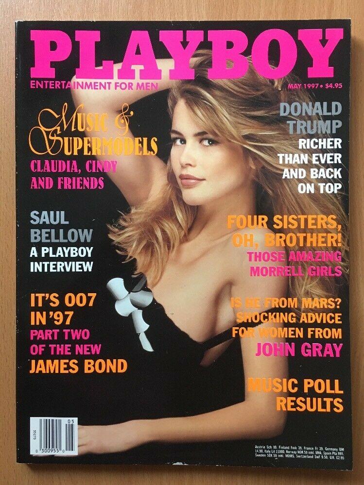 Claudia Schiffer - Copertina Playboy Maggio 1997