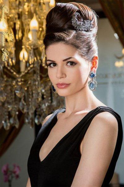 Monica Gabor - Modella Rumena