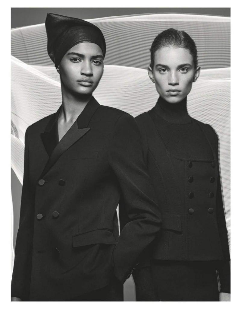 Modelle Bellissime in Bianco e Nero