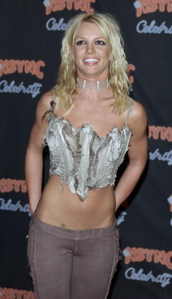 Britney Spears Top Fascia
