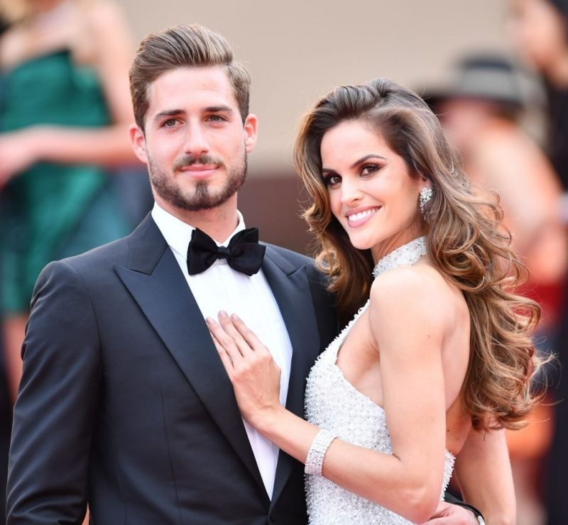 Kevin Trapp e Isabel
