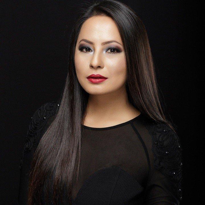 Malvika Subba - modella nepalese