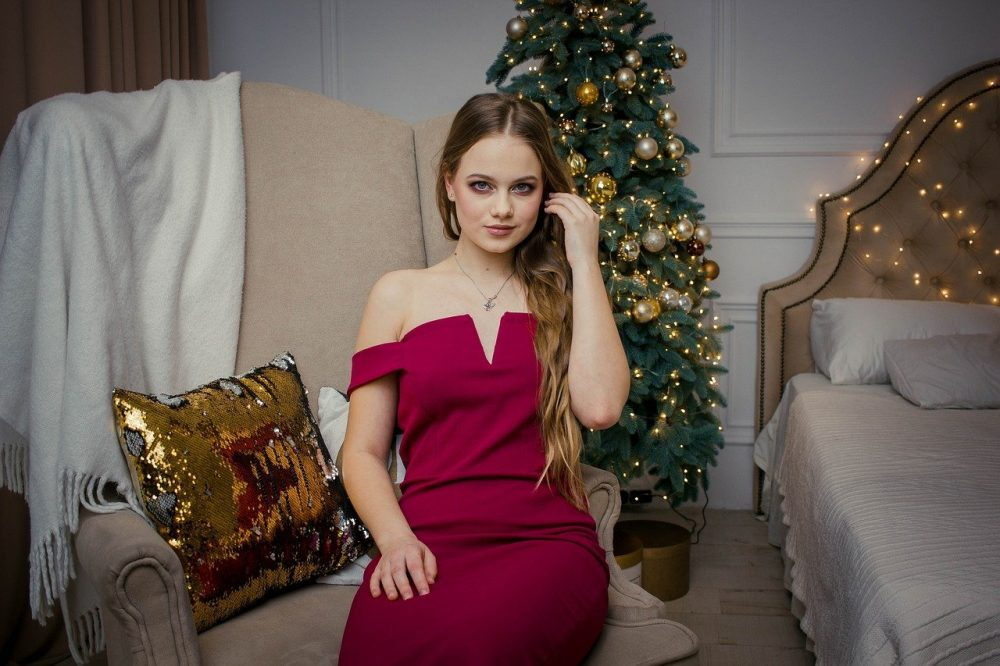 outfit donna a natale elegante